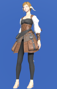 Model-Ramie Doublet of Crafting-Female-AuRa.png