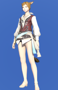 Model-Shirt of the Divine Light-Female-Miqote.png
