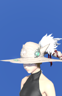 Model-True Linen Hat of Healing-Female-Miqote.png