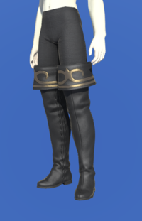 Model-Gyuki Leather Highboots of Striking-Female-Roe.png