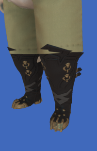 Model-Replica Sky Pirate's Boots of Fending-Male-Lalafell.png