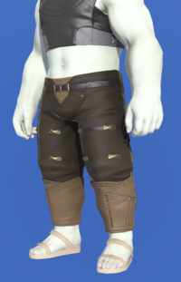 Model-Gyuki Leather Trousers of Fending-Male-Roe.png