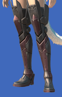 Model-Late Allagan Sollerets of Scouting-Female-Miqote.png