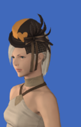 Model-Valentione Acacia Ribboned Hat-Female-Hyur.png
