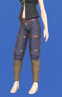 Model-Valerian Terror Knight's Trousers-Female-AuRa.png