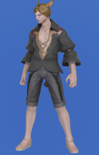 Model-Flame Sergeant's Shirt-Male-Miqote.png