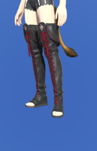 Model-Ghost Barque Open-toed Boots of Scouting-Female-Miqote.png