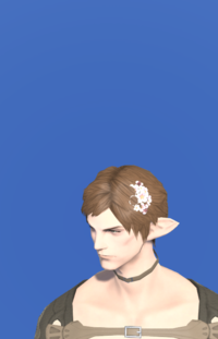 Model-Pink Cherry Blossom Corsage-Male-Elezen.png