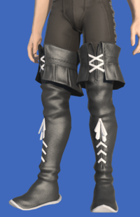 Model-Direwolf Thighboots of Healing-Male-Hyur.png