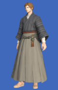 Model-Far Eastern Schoolboy's Hakama-Male-Hyur.png
