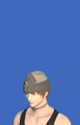 Model-Linen Wedge Cap of Gathering-Male-Hyur.png