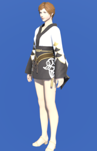 Model-Lady's Yukata (Black)-Female-Hyur.png