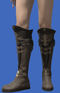 Model-Atrociraptorskin Boots of Crafting-Female-Viera.png