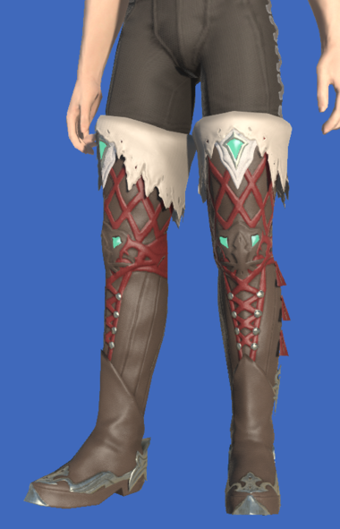 Model-Slothskin Boots of Healing-Male-Hyur.png